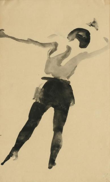 Лебедев в в акробатка 1926
