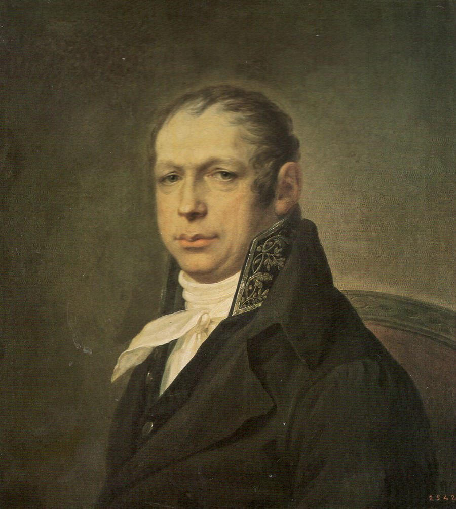 Щукин С.С. Портрет архитектора А.Д.Захарова. 1804.  ГРМ