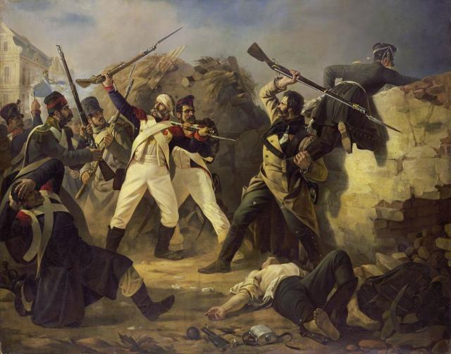 Подвиг гранадера Коренного в Лейпцигском сражении