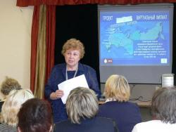 Заместитель директора Русского музея Н.М. Кулешова рассказывает о проекте