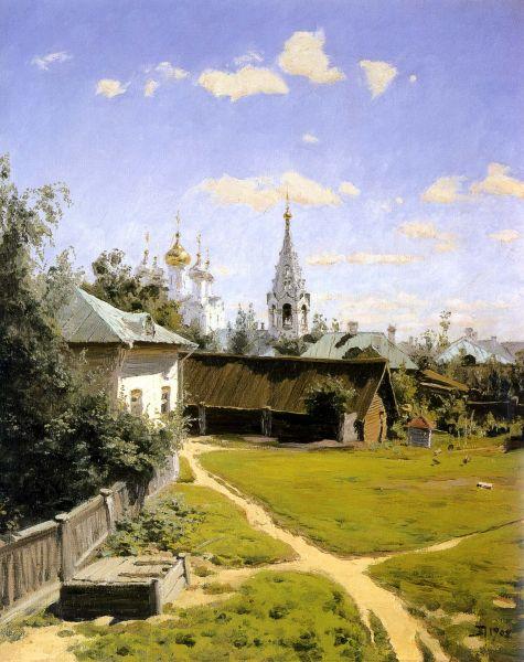 Где находился московский дворик поленова