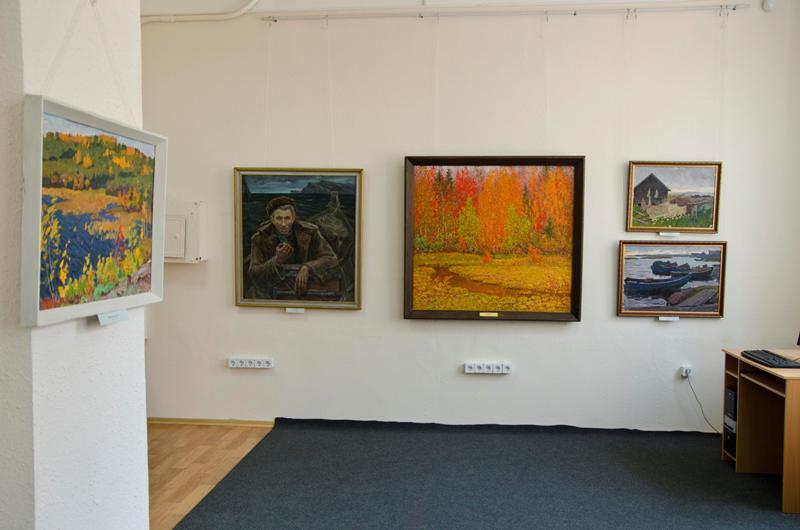 Пейзажи Николая Пашканиса. Выставка в Запорожском художественном музее