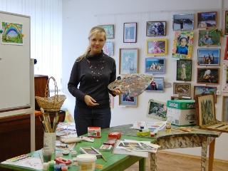 Подготовка занятия «В мастерской художника»