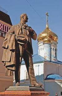 Памятник Ф.Шаляпину. Фото: Павлов В.Г.
