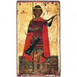 Великомученик Димитрий Солунский. Начало XV - XVI вв. Псков