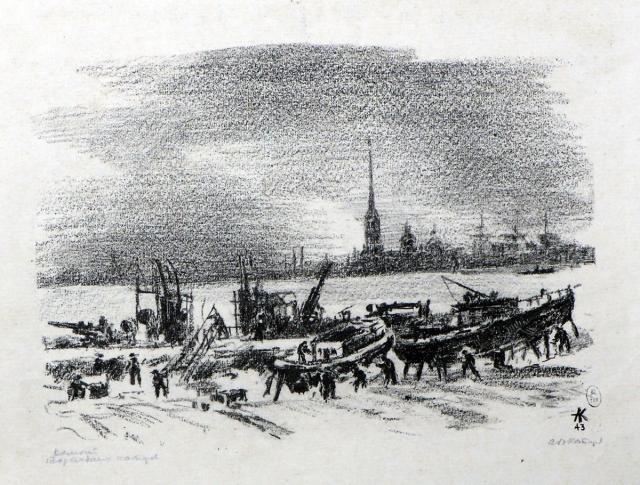 Каплун А.В. Ремонт торпедных катеров. 1943