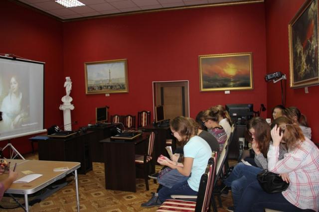 знакомство с русским музей