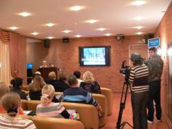 На торжественном открытии виртуального филиала Русского музея в Петродворце