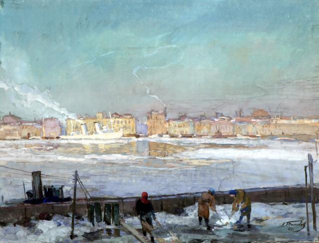Тимков Н.Е. Весна. Ленинград. 1944