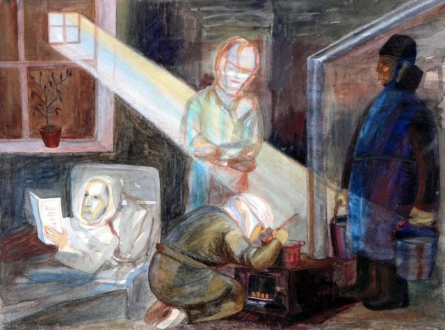 Глебова Т. Н. В блокаду. 1942
