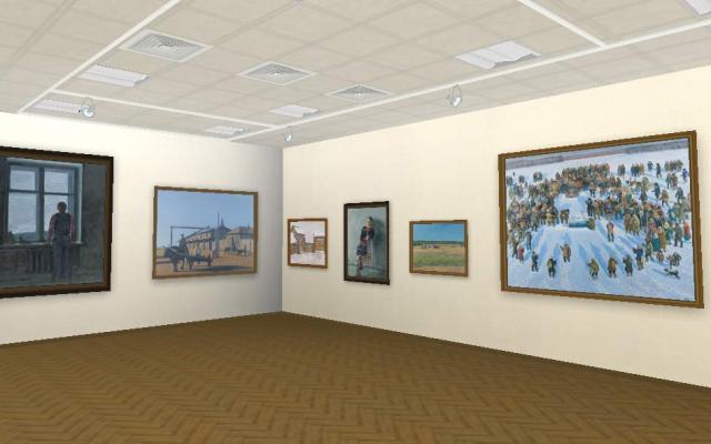 Виртуальный музей Национального художественного музея Республики Саха (Якутия)