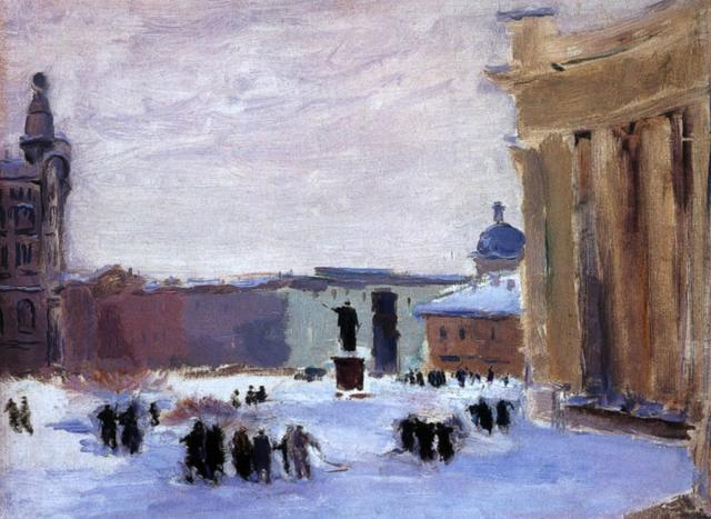 Пакулин В.В. У Казанского собора. 1941-1942