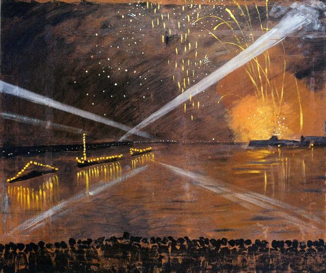 Остроумова-Лебедева А.П. Салют. 1944
