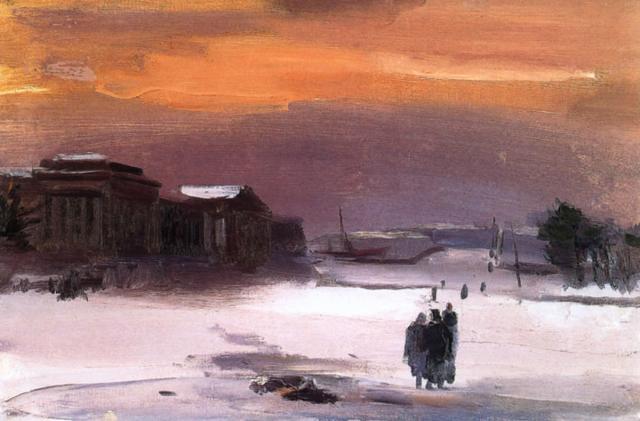 Траугот Г.Н. Зарево. 1942