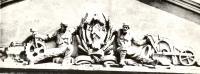 Надольский С.Р. Скульптура на тимпане фронтона Дворца революции. 1923-1925