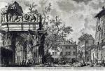 Джованни Батиста Пиранези. Вид храма Веспасиана.
