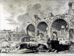 "Джованни Батиста Пиранези. Вид руин таблинума ""Золотого дома Нерона"""