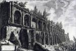 Джованни Батиста Пиранези. Руины виллы Мецената в Тиволи. 1763.