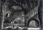 Джованни Батиста Пиранези. Другой внутренний вид виллы Мецената в Тиволи.