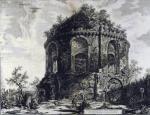 Джованни Батиста Пиранези. Вид так называемого храма Тоссе на Тибуртинской дороге.