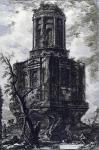 Джованни Батиста Пиранези. Руины древней гробницы.