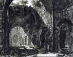 Джованни Батиста Пиранези. Внутренний вид храма Канопуса на вилле Адриана.