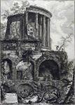 Джованни Батиста Пиранези. Вид храма Сивиллы в Тиволи. 1761.