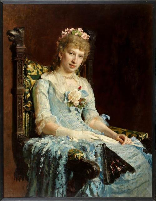 Репин и е женский портрет 1881 егмии
