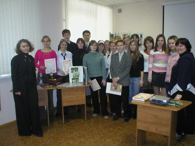 Преподаватели и учащиеся ВФ ГРМ