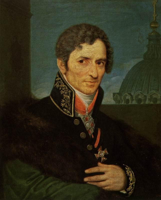 Воронихин А.Н. Автопортрет (?). Не ранее 1811.  ГРМ