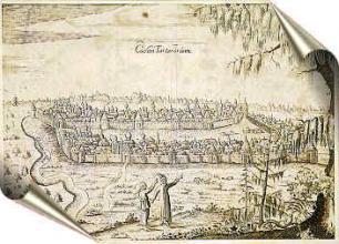 (Казань, гравюра 1630 г.)