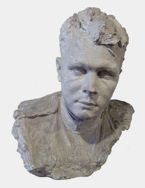 Лебедева С.Д. Портрет писателя А.Т.Твардовского. 1943