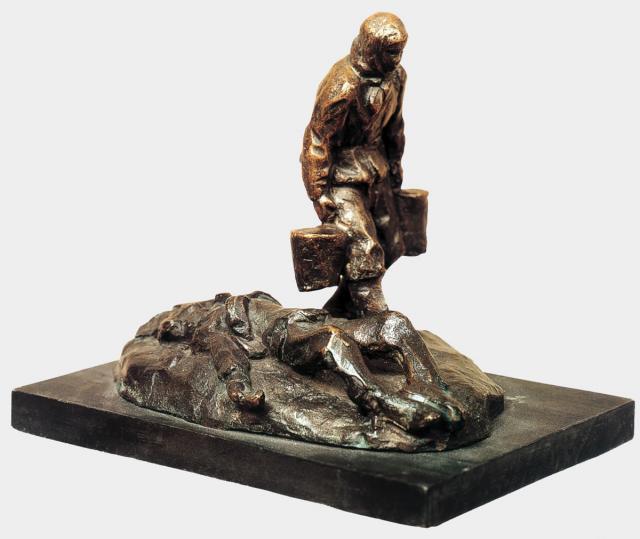 Лишев В.В. За водой. 1941